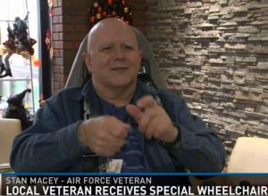 Stan Macey Receives Chair