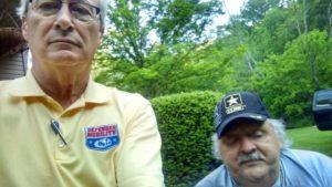 POAM President, Jim Tignanelli, with Clyde.