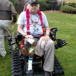 Virginia Vietnam Veteran Receives Trac Fab Chair